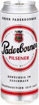 Упаковка пива Paderborner Pilsner светлое фильтрованное 4.8% 0.5 л х 24 банок (4101120015106) - изображение 1