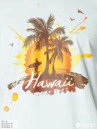 Футболка James Harvest American Hawaii 2134011510/3 L Голубая - изображение 3