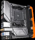 Материнська плата Gigabyte B450 I Aorus Pro Wi-Fi (sAM4, AMD B450, PCI-Ex16) - зображення 2