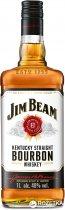 Виски Jim Beam White 4 года выдержки 1 л 40% (5010196092142) - изображение 1