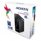 """Зовнішній жорсткий диск 3.5"""" 6TB ADATA (AHM900-6TU3-CEUBK) - зображення 6"""