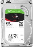 Жесткий диск Seagate IronWolf HDD 2TB 5900rpm 64MB ST2000VN004 3.5 SATAIII - изображение 1
