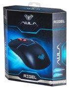 Миша Aula Rigel USB Black (6948391211633) - зображення 7