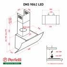 Вытяжка PERFELLI DNS 9862 W LED - изображение 15