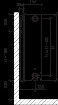 Радиатор PURMO Ventil Compact 33 300 x 1400 - изображение 9