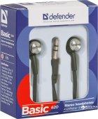 Навушники Defender Basic 620 Black (63620) - зображення 2