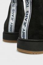 Чоловічі чорні замшеві челсі Tommy Hilfiger 45 EM0EM00185 - зображення 5
