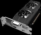 Gigabyte PCI-Ex GeForce GTX 1650 OC Low Profile 4G 4GB GDDR5 (128bit) (1695/8002) (HDMI, DisplayPort, DVI) (GV-N1650OC-4GL) - зображення 2