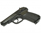 Пневматичний пістолет байкал мр658к(мр654к) чорн. рук. blowback - зображення 3
