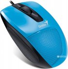 Мышь Genius DX-150X USB Black/Blue (31010231102) - изображение 2