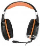 Навушники Real-El GDX-7700 Surround 7.1 Black-orange (EL124100016) - зображення 2