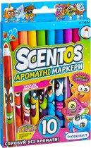 Набор ароматных маркеров для рисования Scentos Тонкая линия 10 цветов (40720) - изображение 2