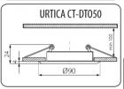 Світильник точковий Kanlux Urtica CT-DTO50-AB (KA-19550) - зображення 2