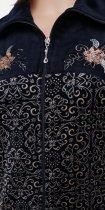 Халат Romeo Life RL1903 4XL Темно-синий (1720638401528) - изображение 2