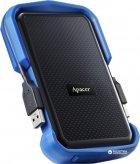 "Жорсткий диск Apacer AC631 2TB 5400rpm AP2TBAC631U-1 2.5"" USB 3.1 External Blue - зображення 3"