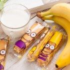 Печиво здобне збивне перешароване начинкою Чарівна мозаїка Симпатяшки з ароматом банана 0.75 кг (4820163111728) - зображення 3