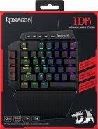 Клавиатура проводная Redragon Ida RGB USB Black OUTEMU Blue (77437) - изображение 13