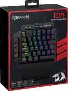 Клавиатура проводная Redragon Ida RGB USB Black OUTEMU Blue (77437) - изображение 14