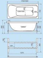 Акриловая ванна Triton Эмма 150 - изображение 4