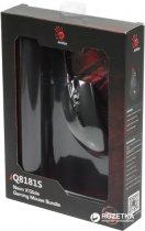 Мышь Bloody Q81 Neon XGlide Q8181S USB Black с игровой поверхностью Black (4711421931052) - изображение 4