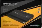 """Зовнішня кишеня Grand-X для HDD 3.5"""" USB 3.0 + БП 12В 2A (HDL-31) - зображення 3"""