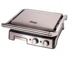 Гриль електричний DSP KB1036 Електрогриль 2000Вт контактний + таймер + піддон + регулювання температури + индикатр + антипригарне покриття для будинку - зображення 3