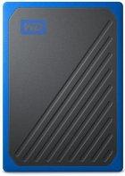 Портативный SSD USB 3.0 WD Passport Go 2TB Blue (JN63WDBMCG0020BBT-WESN) - зображення 1