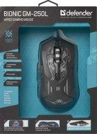 Мышь Defender Bionic GM-250L USB Black (52250) - изображение 13