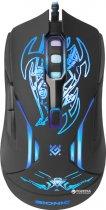 Мышь Defender Bionic GM-250L USB Black (52250) - изображение 2