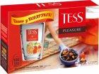 Набір чаю чорного пакетованого TESS Pleasure з чашкою в подарунок (4823096804125) - зображення 1