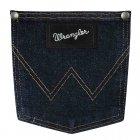 Мужские Джинсы Wrangler Original Fit - Dark Denim W34 L32 Темно-синий (13MSEDD) - изображение 4