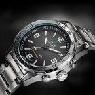 Мужские спортивные кварцевые часы Weide Standart Silver 1506 - изображение 8
