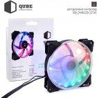 Вентилятор QUBE RGB Rainbow Chamelion 256C 120 мм 18 LED (QB-CHAMELION-120-18) - изображение 3