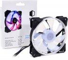 Вентилятор QUBE RGB Rainbow Chamelion 256C 120 мм 18 LED (QB-CHAMELION-120-18) - изображение 4