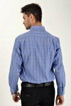Мужская рубашка (9021-26) AGER 41 Синий 000042292 - изображение 2
