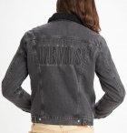 Джинсова куртка Levi's Type 3 Sherpa Trucker Embossed Logo Blk 16365-0124 L - зображення 2