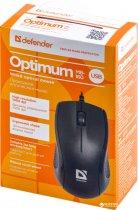 Миша Defender Optimum MB-160 USB Black (52160) - зображення 4