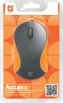 Миша Defender Accura MS-970 USB Gray/Orange (52971) - зображення 4