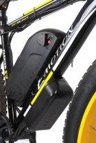 "Електровелосипед E-motion Fatbike 48V 1000 Вт 26"" чорно-жовтий (EFB-BLACK-YELLOW) - зображення 4"