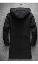 Пальто Chernyy Kot 2001-BL Черный XL - изображение 3