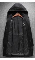 Пальто Chernyy Kot 2001-BL Черный XL - изображение 4