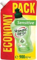 Жидкость для мытья посуды Morning Fresh Sensitive Aloe Vera Суперконцентрат 900 мл (5900998023430) - изображение 1