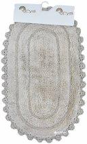 Набір килимків у ванну кімнату Arya Afro 60x100 і 50x60 Бежевий (TR1003687) - зображення 2