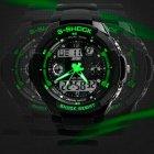Чоловічі годинники Skmei S-Shock Green 0931 - изображение 6
