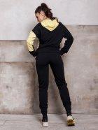 Спортивный костюм ISSA PLUS SA-112 M Черный с желтым (2001012268837) - изображение 3
