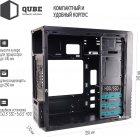 Корпус QUBE QB05M 400W Black (QB05M_MN4U3) - изображение 3