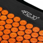 Коврик акупунктурный 4FIZJO Аппликатор Кузнецова 72 x 42 см 4FJ0041 Black-Orange (SKL41-227763) - изображение 5
