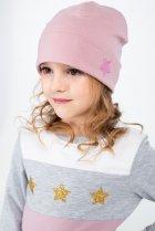 Демисезонная шапка Vidoli G-2013W 55 см Пудровая (4820160994454) - изображение 2
