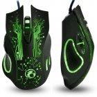 Мышь ESTONE X9 USB Black - изображение 4