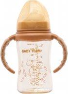 Бутылочка для кормления Baby Team с температурным индикатором 240 мл (1090) - изображение 1